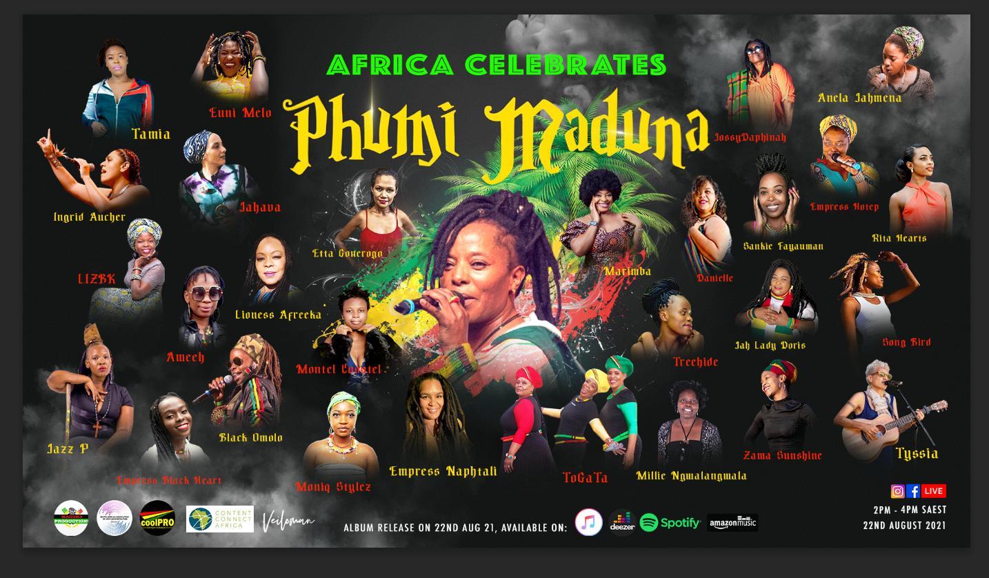 Africa Celebrates Phumi Maduna