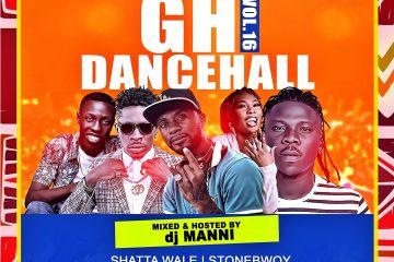 DJ Mani Gh Dancehall vol 16