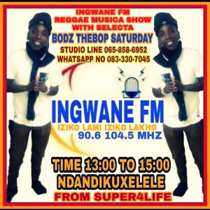 Saturday Reggae Vibes Show @ Ingwane FM 104.5 MHZ – 90.6